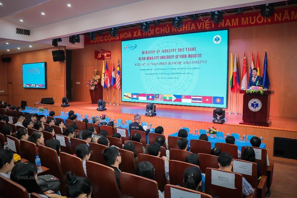 Lễ khai mạc Đánh giá chương trình đào tạo theo kế hoạch đã đăng ký với AUN năm 2019 lần thứ 167