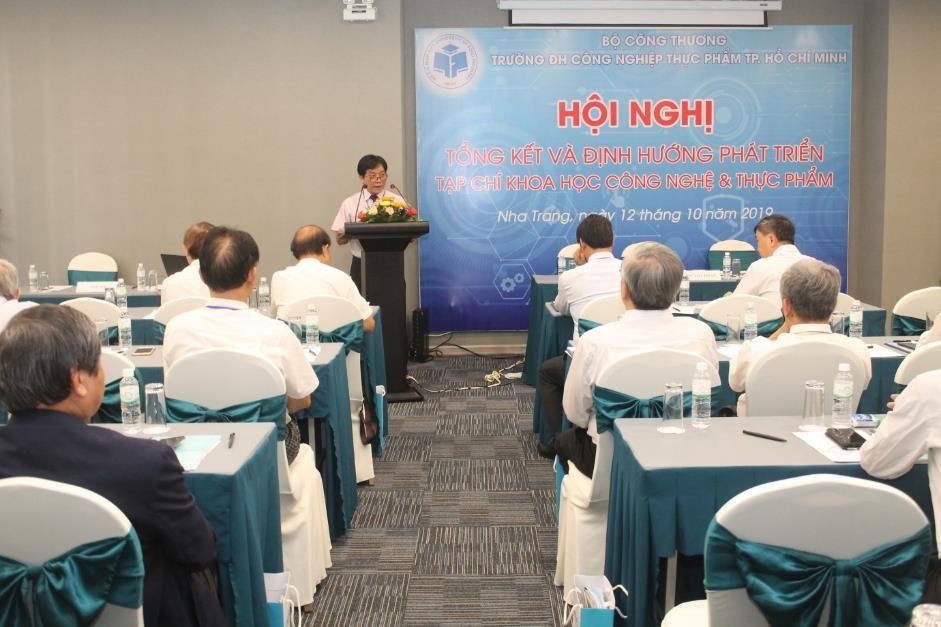 Hội nghị Tổng kết và định hướng phát triển Tạp chí Khoa học Công nghệ và Thực phẩm