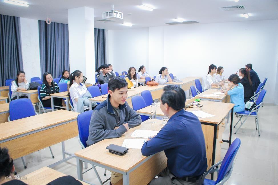 Khoá thi The Orientor đã được tổ chức tại Trường Đại học Công nghiệp Thực phẩm (HUFI)