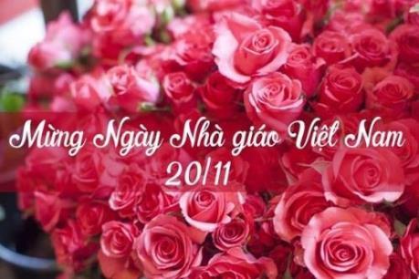Thư chúc mừng ngày nhà giáo Việt Nam 20-11 của Hiệu trưởng