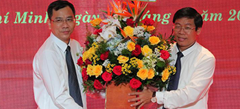 Photo: Assoc. Dr. Nguyen Xuan Hoan - New Rector of Ho Chi Minh City University of Food Industry. Ho Chi Minh City (Photo: HUFICO)
